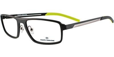 Dioptrické brýle Tom Tailor model 50262, barva obruby černá mat, stranice černá stříbrná mat, kód barevné varianty 953.