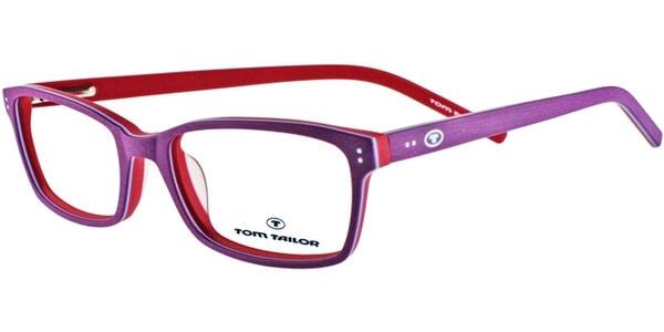 Dioptrické brýle Tom Tailor model 60268, barva obruby fialová růžová mat, stranice fialová růžová mat, kód barevné varianty 335.