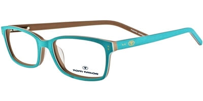 Dioptrické brýle Tom Tailor model 60268, barva obruby tyrkysová béžová mat, stranice tyrkysová béžová mat, kód barevné varianty 336.
