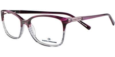 Dioptrické brýle Tom Tailor model 60270, barva obruby fialová šedá lesk, stranice fialová šedá lesk, kód barevné varianty 959.