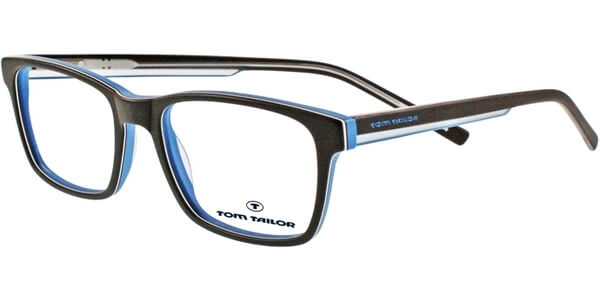 Dioptrické brýle Tom Tailor model 60274, barva obruby hnědá mat, stranice hnědá modrá mat, kód barevné varianty 408.