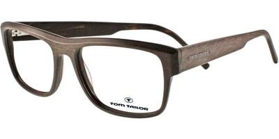 Dioptrické brýle Tom Tailor model 60275, barva obruby hnědá mat, stranice hnědá mat, kód barevné varianty 413.