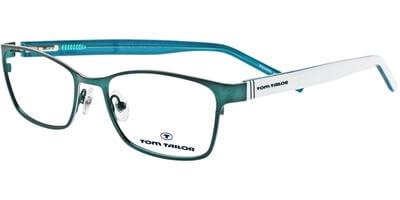 Dioptrické brýle Tom Tailor model 60279, barva obruby tyrkysová mat, stranice bílá lesk, kód barevné varianty 385.