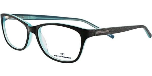 Dioptrické brýle Tom Tailor model 60293, barva obruby černá modrá mat, stranice černá mat, kód barevné varianty 693.