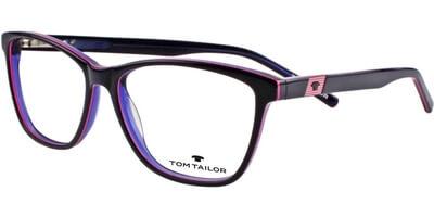 Dioptrické brýle Tom Tailor model 60300, barva obruby fialová růžová lesk, stranice fialová růžová lesk, kód barevné varianty 876.