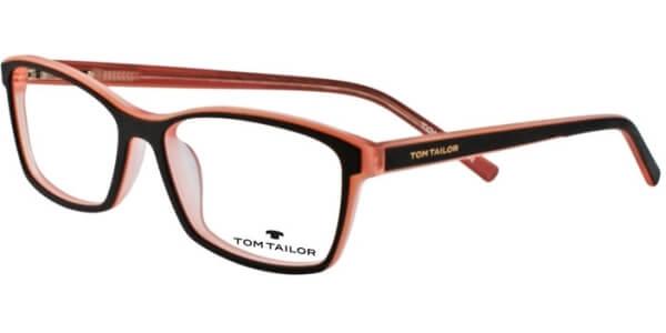 Dioptrické brýle Tom Tailor model 60310, barva obruby hnědá růžová mat, stranice hnědá růžová mat, kód barevné varianty 345.