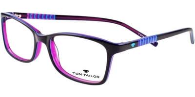Dioptrické brýle Tom Tailor model 60346, barva obruby fialová modrá lesk, stranice fialová modrá lesk, kód barevné varianty 637.