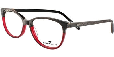 Dioptrické brýle Tom Tailor model 60355, barva obruby hnědá vínová mat, stranice hnědá mat, kód barevné varianty 663.