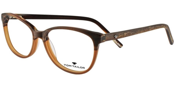Dioptrické brýle Tom Tailor model 60355, barva obruby hnědá mat, stranice hnědá mat, kód barevné varianty 664.