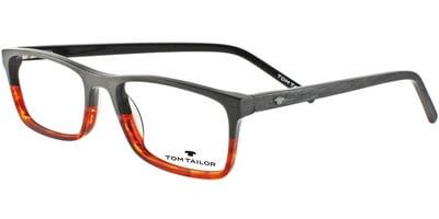 Dioptrické brýle Tom Tailor model 60356, barva obruby šedá hnědá mat, stranice šedá mat, kód barevné varianty 667.