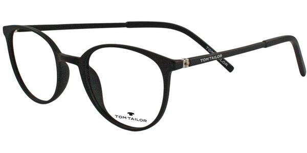 Dioptrické brýle Tom Tailor model 60364, barva obruby černá mat, stranice černá mat, kód barevné varianty 121.