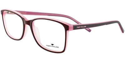 Dioptrické brýle Tom Tailor model 60369, barva obruby Vínová růžová mat, stranice vínová růžová mat, kód barevné varianty 137.