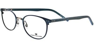 Dioptrické brýle Tom Tailor model 60394, barva obruby modrá šedá mat, stranice šedá černá mat, kód barevné varianty 248.