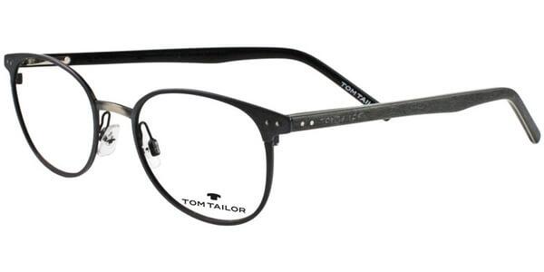 Dioptrické brýle Tom Tailor model 60394, barva obruby modrá šedá mat, stranice zelená černá mat, kód barevné varianty 249.