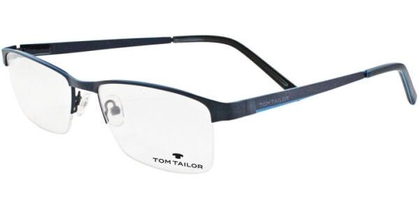 Dioptrické brýle Tom Tailor model 60408, barva obruby modrá lesk, stranice modrá lesk, kód barevné varianty 505.