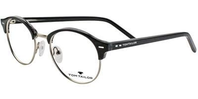 Dioptrické brýle Tom Tailor model 60410, barva obruby černá stříbrná lesk, stranice černá lesk, kód barevné varianty 512.