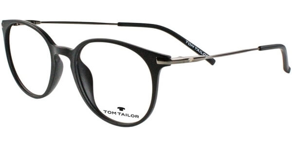 Dioptrické brýle Tom Tailor model 60412, barva obruby černá mat, stranice šedá lesk, kód barevné varianty 500.