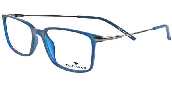 Dioptrické brýle Tom Tailor model 60413, barva obruby modrá mat, stranice stříbrná lesk, kód barevné varianty 502.