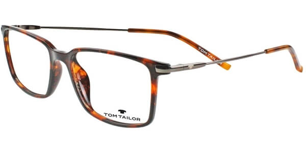 Dioptrické brýle Tom Tailor model 60413, barva obruby hnědá lesk, stranice stříbrná lesk, kód barevné varianty 503.