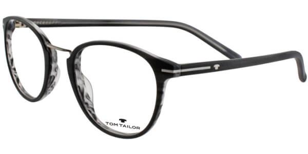 Dioptrické brýle Tom Tailor model 6018, barva obruby černá šedá mat, stranice černá šedá mat, kód barevné varianty 306.