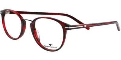 Dioptrické brýle Tom Tailor model 6018, barva obruby červená lesk, stranice ervená lesk, kód barevné varianty 307.