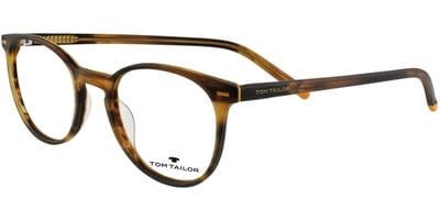 Dioptrické brýle Tom Tailor model 60421, barva obruby hnědá mat, stranice hnědá mat, kód barevné varianty 286.