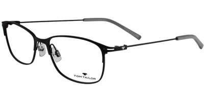Dioptrické brýle Tom Tailor model 60422, barva obruby černá mat, stranice černá mat, kód barevné varianty 288.