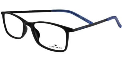 Dioptrické brýle Tom Tailor model 60428, barva obruby černá mat, stranice černá modrá mat, kód barevné varianty 310.