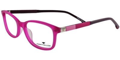 Dioptrické brýle Tom Tailor model 60442, barva obruby růžová mat, stranice růžová fialová mat, kód barevné varianty 352.
