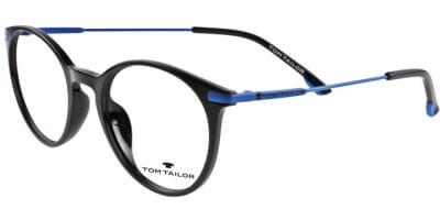 Dioptrické brýle Tom Tailor model 60443, barva obruby černá lesk, stranice modrá lesk, kód barevné varianty 354.