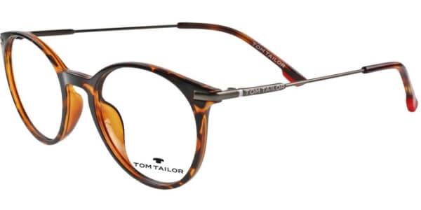 Dioptrické brýle Tom Tailor model 60443, barva obruby hnědá lesk, stranice hnědá lesk, kód barevné varianty 355.