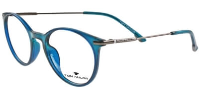 Dioptrické brýle Tom Tailor model 60443, barva obruby zelená lesk, stranice bronzová lesk, kód barevné varianty 356.