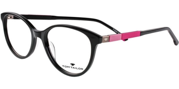 Dioptrické brýle Tom Tailor model 60444, barva obruby černá lesk, stranice černá růžová mat, kód barevné varianty 359.