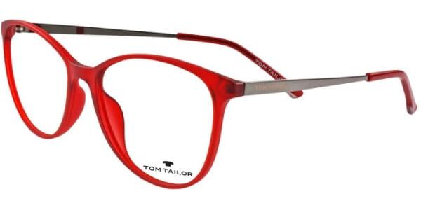 Dioptrické brýle Tom Tailor model 60451, barva obruby červená mat, stranice šedá lesk, kód barevné varianty 379.