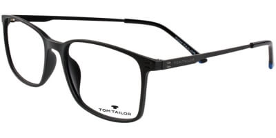 Dioptrické brýle Tom Tailor model 60452, barva obruby černá mat, stranice černá mat, kód barevné varianty 381.