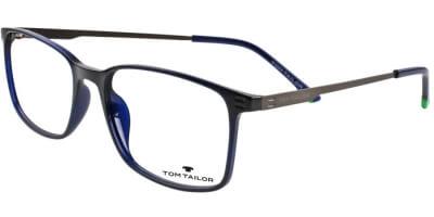 Dioptrické brýle Tom Tailor model 60452, barva obruby modrá lesk, stranice šedá mat, kód barevné varianty 383.
