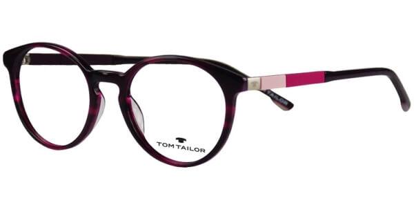 Dioptrické brýle Tom Tailor model 60460, barva obruby růžová fialová lesk, stranice růžová mat, kód barevné varianty 404.