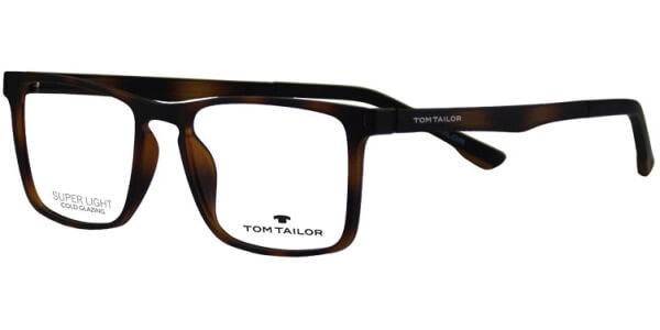 Dioptrické brýle Tom Tailor model 60472, barva obruby hnědá mat, stranice hnědá mat, kód barevné varianty 435.