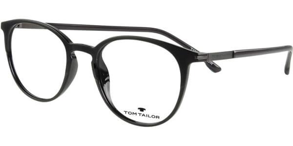 Dioptrické brýle Tom Tailor model 60476, barva obruby černá mat, stranice černá lesk, kód barevné varianty 446.