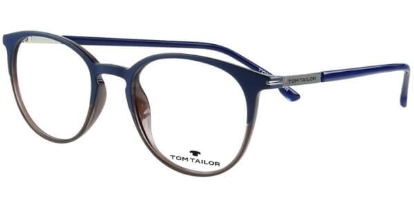 Dioptrické brýle Tom Tailor model 60476, barva obruby modrá fialová mat, stranice modrá lesk, kód barevné varianty 448.