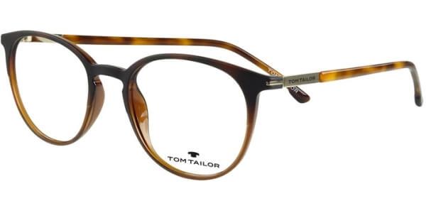 Dioptrické brýle Tom Tailor model 60476, barva obruby hnědá mat, stranice hnědá lesk, kód barevné varianty 481.