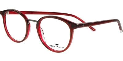 Dioptrické brýle Tom Tailor model 60481, barva obruby červená vínová lesk, stranice červená vínová lesk, kód barevné varianty 471.