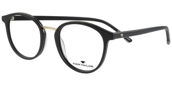 Dioptrické brýle Tom Tailor model 60481, barva obruby černá mat, stranice černá mat, kód barevné varianty 472.