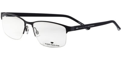 Dioptrické brýle Tom Tailor model 60491, barva obruby černá mat, stranice černá mat, kód barevné varianty 518.
