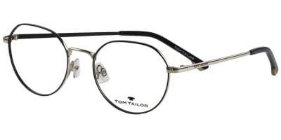 Dioptrické brýle Tom Tailor model 60498, barva obruby černá stříbrná mat, stranice stříbrná lesk, kód barevné varianty 525.