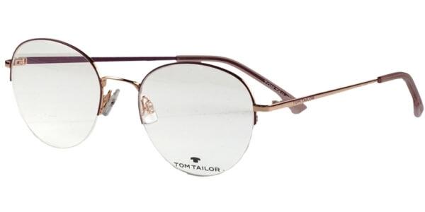 Dioptrické brýle Tom Tailor model 60510, barva obruby fialová mat, stranice fialová lesk, kód barevné varianty 547.