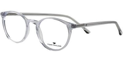 Dioptrické brýle Tom Tailor model 60529, barva obruby čirá lesk, stranice čirá lesk, kód barevné varianty 598.