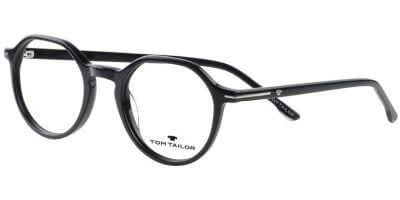 Dioptrické brýle Tom Tailor model 60530, barva obruby černá lesk, stranice černá lesk, kód barevné varianty 600.
