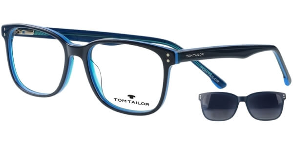 Dioptrické brýle Tom Tailor model 60535, barva obruby modrá lesk, stranice modrá lesk, kód barevné varianty 103.