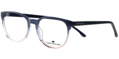 Dioptrické brýle Tom Tailor model 60537, barva obruby černá růžová lesk, stranice černá čirá lesk, kód barevné varianty 112.